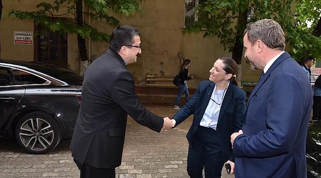 Kale Grubu Başkanı ve CEO'su Zeynep Bodur Okyay Çan Belediyesini Ziyaret Etti