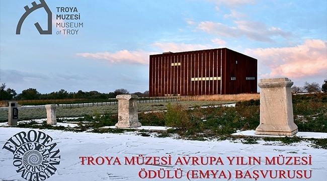 """Avrupa Yılın Müzesi Ödülü """"Troya Müzesine Çok Yakışacak"""""""