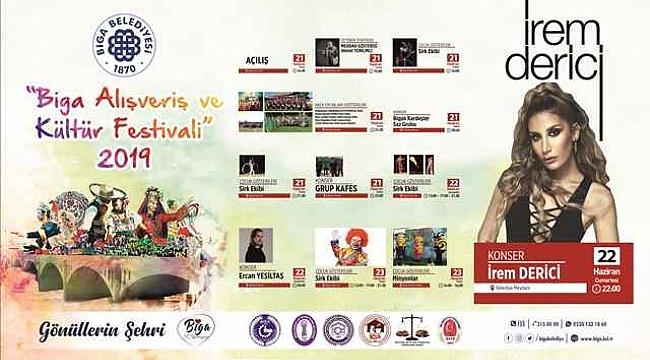 Biga Alışveriş Ve Kültür Festivali Yarın Başlıyor