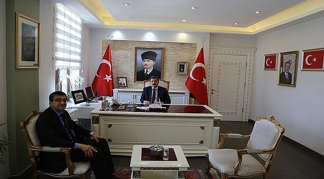 Çan Belediye Başkanı Bülent Öz'den Valiliğe Ziyaret