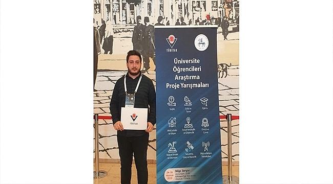 ÇOMÜ Öğrencisi Şamil Güven'in 'Tübitak Projesi' Başarısı