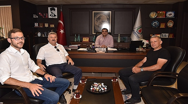 Başkan Öz, ADD Başkanı Akyalçın'ı Ağırladı