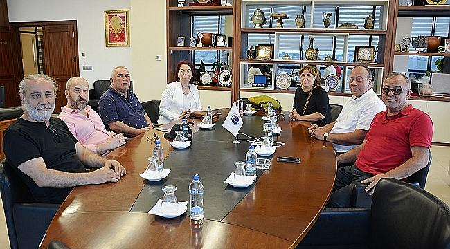 Çanakkale Gazeteciler Ve Yayıncılar Derneği'nden ÇTSO Yönetim Kurulu Başkanına Ziyaret