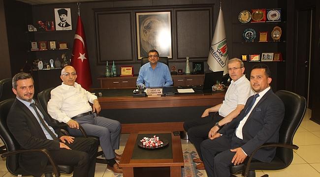 ÇOMÜ Rektörü Prof. Dr. Sedat Murat, Çan'ı Ziyaret Etti