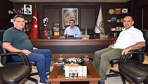 İl Şube Müdürlerinden Başkan Öz'e Ziyaret