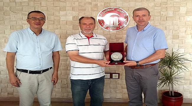 ULUDAĞ ÜNİVERSİTESİ REKTÖR YARDIMCISI PROF. DR. TEVFİK YÜCEDOĞRU'DAN ZİYARET