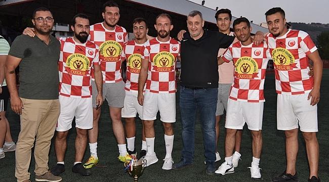 Çan Belediyesi Futbol Turnuvası Sona Erdi
