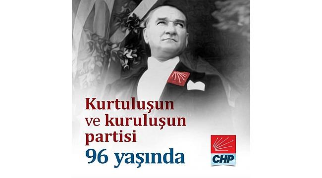 CHP Çan İlçe Başkanı Atilla Erbil'in CHP'nin 96. Kuruluş Yıldönümü Mesajı