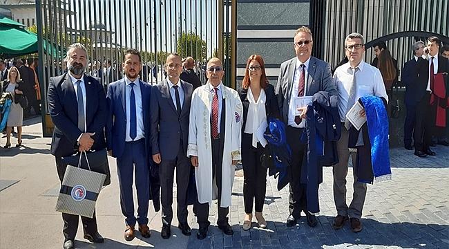 Rektör Murat 2019-2020 Yükseköğretim Akademik Yılı Açılış Töreni'ne Katıldı