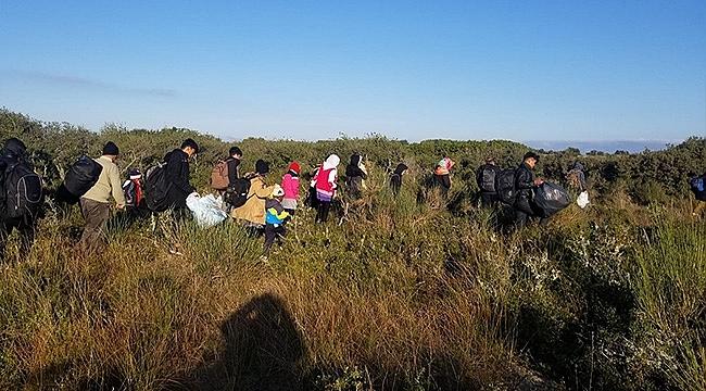 2 Günde 302 Mülteci Sayısı Yakalandı!