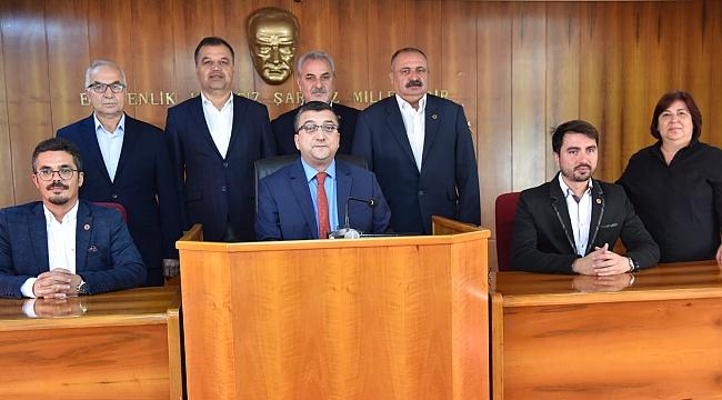 Çan Belediye Başkanı Bülent Öz; Kalbimiz Ve Dualarımız Her Zaman Olduğu Gibi Kahraman Askerlerimizledir