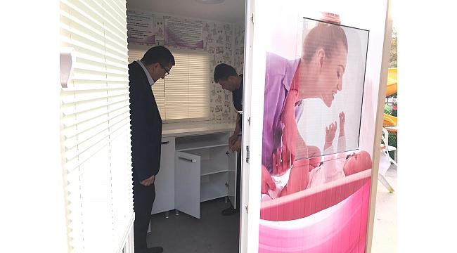 Çan Belediyesi, Bebek Bakım Ve Emzirme Kabini İle Annelerin Hayatını Kolaylaştırıyor