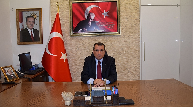 Çan Kaymakamı Mustafa Gürdal'ın 29 Ekim Cumhuriyet Bayramı Kutlama Mesajı