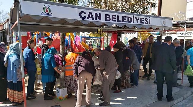 """Başkan Bülent Öz: """"Çan'da Manevi Duyguları Birlikte Paylaştık"""""""