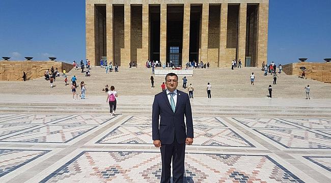 """Başkan Öz, """"Atatürk; Ülkemizin Bizi Biz Yapan Değeridir"""""""