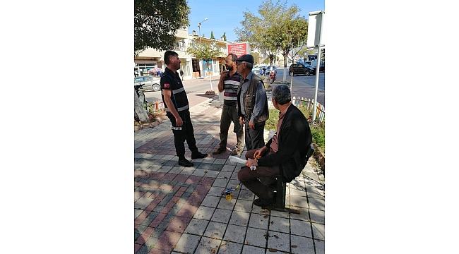 Çan Belediye Zabıtaları Sokak Sokak Vatandaşların Yanında