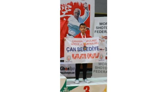 Çan Belediyesi Karate Kulübü Avrupa'da Ödüle Doymuyor