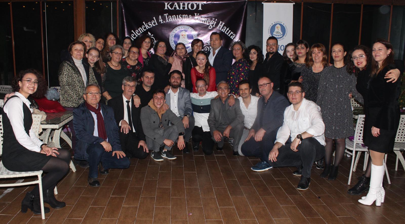 KAHOT Kazdağı Halk Oyunları Topluluğu 4. Geleneksel Tanışma Yemeği Düzenledi!