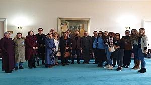 MHP HEYETİ TURAN'IN MİSAFİRİ