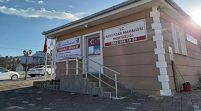 ÇAN'DA 'BELEDİYE HİZMET BİNASI' AÇILDI