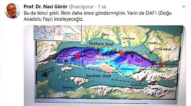 DEPREM UZMANI NACİ GÖRÜR'DEN YENİ UYARI!