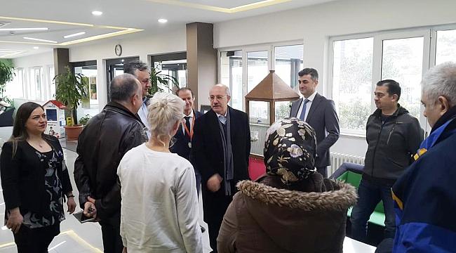 İTÜ REKTÖRÜ PROF. DR. MEHMET KARACA'DAN DOĞALILARA DESTEK