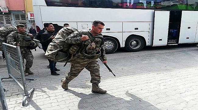 YÜZLERCE KOMANDO SINIRA GÖNDERİLDİ!