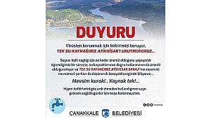 TEK SU KAYNAĞIMIZ ATİKHİSAR'I UNUTMUYORUZ!..