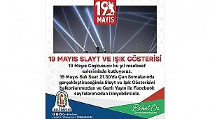 ÇAN'DA 19 MAYIS SLAYT VE IŞIK GÖSTERİSİ YAPILACAK