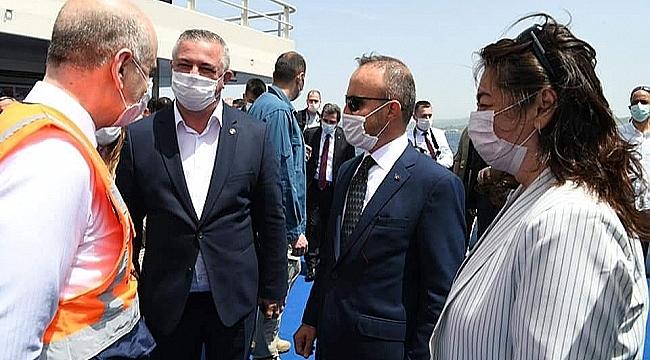 """BAŞKAN ORUÇOĞLU MÜJDEYİ VERDİ: """"GEYİKLİ KOMPLE ASFALTLANIYOR"""""""