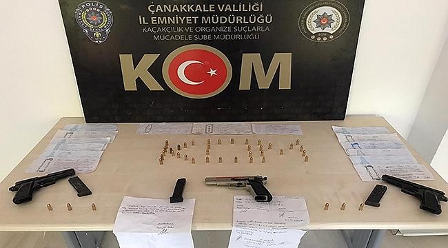 BİGA'DA EMNİYETTEN TEFECİLERE 2 AYRI OPERASYON!