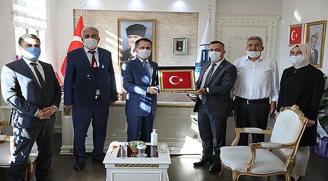 HAK-İŞ KONFEDERASYONU, VALİ AKTAŞ'I ZİYARET ETTİ