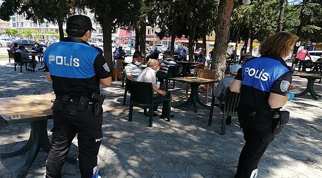 POLİSTEN PANDEMİ DENETİMİ