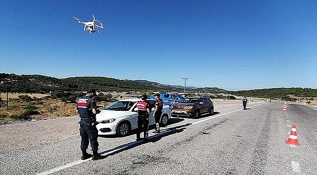 DRONE'LU TRAFİK DENETİMLERİNDE CEZA YAĞDI!
