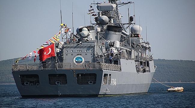 TCG SALİHREİS ÇANAKKALE'DE