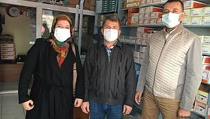 Emin Görgün'den Etili'deki esnaflara ziyaret!