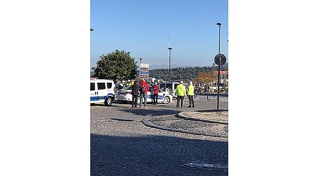 TRAFİK POLİSLERİNDEN PANDEMİ DENETİMİ