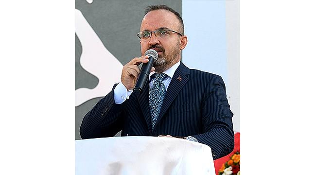 """TURAN: """"83 MİLYON HEP BİRLİKTE BAŞARACAĞIZ"""""""